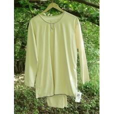 Dámské pyžamo z biobavlny v hnědém provedení vel.  L